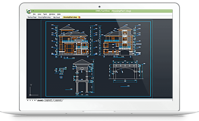 DWG FastView for Windows-Light CAD viewer, fast and precise